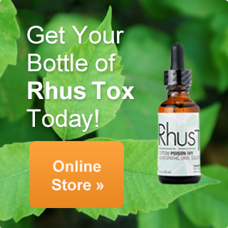 Get Your Bottle of Rhus Tox Today!