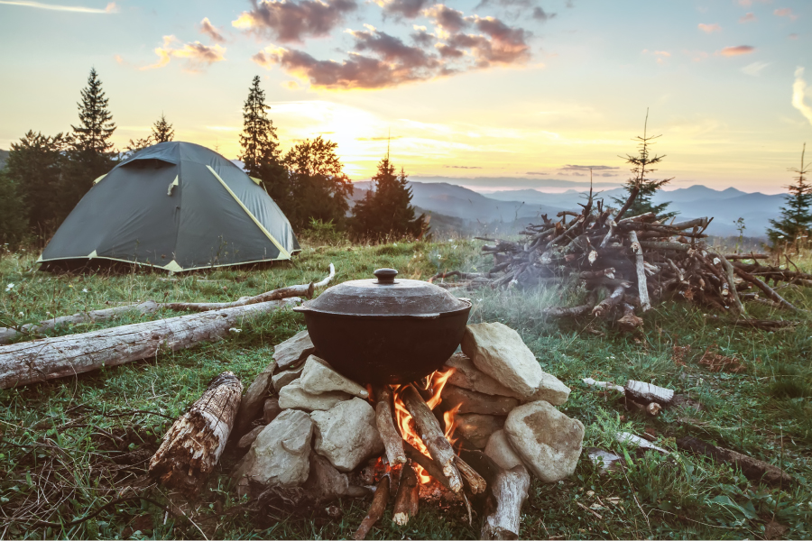 Image of Camping